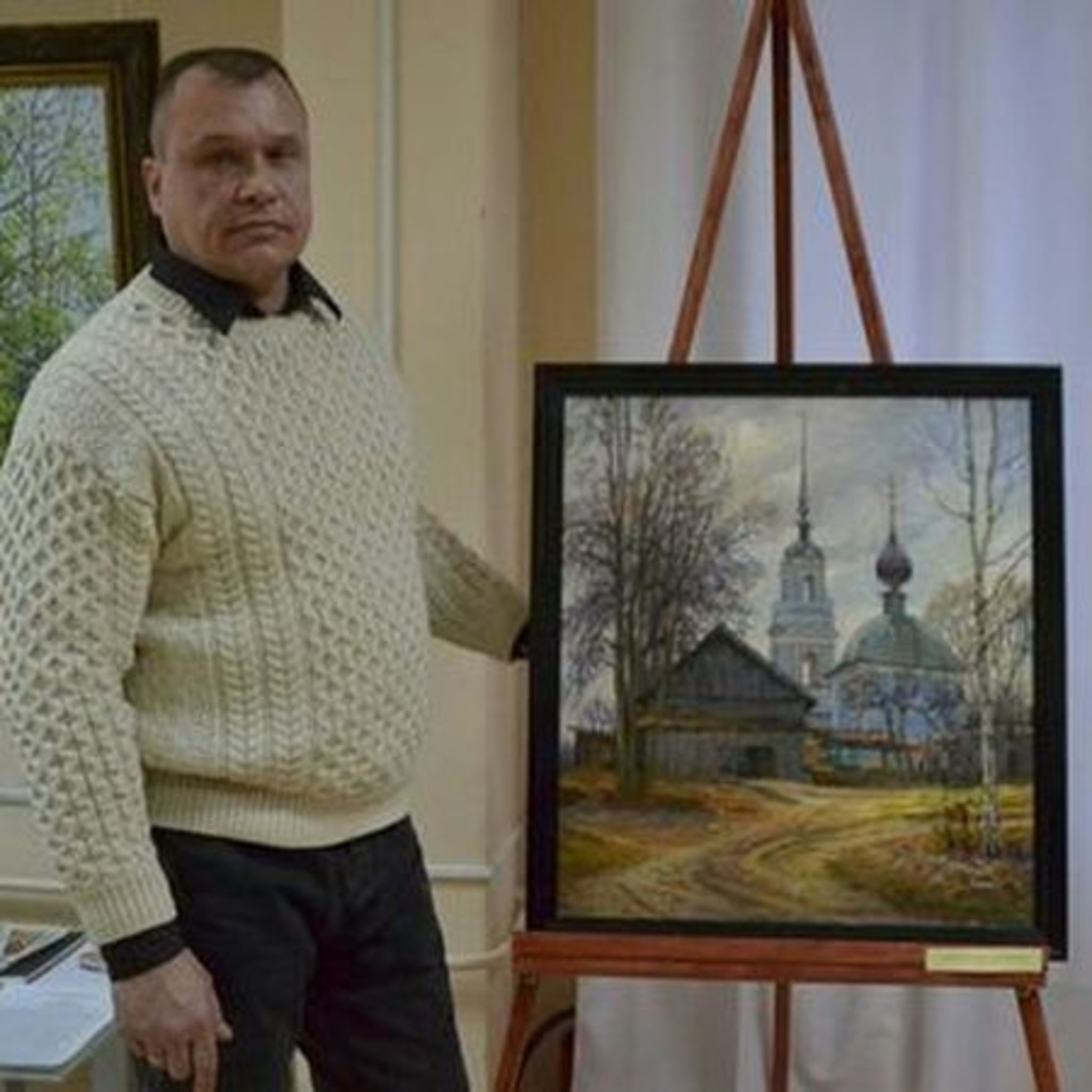 Выставка живописи Михаила Стоячко «Русская провинция»